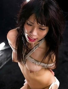 Sweet innocent Luna Kobayashi is our little face fuck pet today.